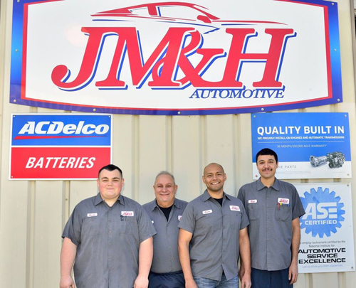 J M & H Automotive Staff
